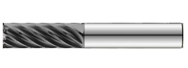 Uncoated 1//2 Shank Diameter SGS 34779 43CR S-Carb High Performance End Mill 1//2 Cutting Diameter 1-1//4 Cutting Length 3-1//4 Length 0.030 Corner Radius