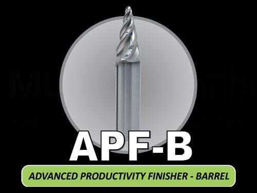 Tapered Circle Segment Barrel Endmill (Non-Ferrous Applications)